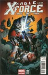 Cable And X-Force #2 Incentive Mark Bagley Variant Cover