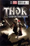 Thor God Of Thunder #3 Incentive Daniel Acuna Variant Cover
