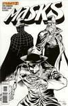 Masks #2 Incentive Ardian Syaf Black & White Cover
