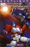 Transformers Spotlight Orion Pax Regular Cover A Steve Kurth