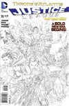 Justice League Vol 2 #15 Incentive Ivan Reis Sketch Cover (Throne Of Atlantis Part 1)