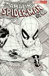 Amazing Spider-Man Vol 2 #700 Incentive Joe Quesada Sketch Cover