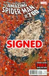 Amazing Spider-Man Vol 2 #700 DF Stan Lee Gold Signature Series Signed By Stan Lee