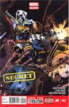 Secret Avengers Vol 2 #2 Regular Tomm Coker Cover