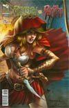 Grimm Fairy Tales Presents Robyn Hood vs Red Riding Hood One Shot Cover C Giuseppe Cafaro