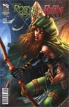 Grimm Fairy Tales Presents Robyn Hood vs Red Riding Hood One Shot Cover D Giuseppe Cafaro