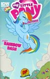 My Little Pony Micro-Series #2 Rainbow Dash DF Exclusive Variant Cover