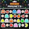 Pac-Man Magnets 28-Piece Set