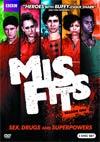 Misfits Season 2 DVD
