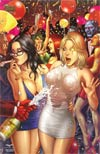 Grimm Fairy Tales Presents Robyn Hood #4 Zenescope Exclusive New Years Variant Cover