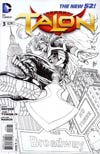 Talon #3 Incentive Guillem March Sketch Cover