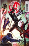 New Avengers Vol 3 #1 Incentive J Scott Campbell Variant Cover