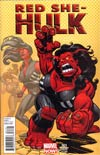 Red She-Hulk #61 Incentive Dave Williams Variant Cover
