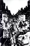 Planet Of The Apes Cataclysm #5 Incentive Gabriel Hardman Virgin Sketch Cover