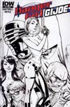 Danger Girl GI Joe #5 Incentive J Scott Campbell Sketch Cover