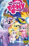 My Little Pony Friendship Is Magic #4 Midtown Exclusive Tony Fleecs Crystal Ponies Part 1 Of 2 Variant Cover
