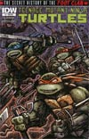 Teenage Mutant Ninja Turtles Secret History Of The Foot Clan #1 Incentive Kevin Eastman Variant Cover