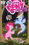 My Little Pony Friendship Is Magic #2 1st Ptg Regular Cover C Pinky Pie & Rainbow Dash