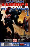 Captain America Vol 7 #1 2nd Ptg John Romita Jr Variant Cover