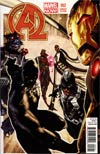 New Avengers Vol 3 #2 Incentive Simone Bianchi Variant Cover