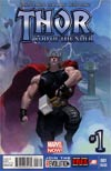 Thor God Of Thunder #1 2nd Ptg Esad Ribic Variant Cover