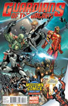 Guardians Of The Galaxy Vol 3 #1 Cover B Midtown Exclusive J Scott Campbell Deadpool Variant Cover