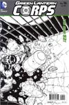 Green Lantern Corps Vol 3 #16 Incentive Cafu Sketch Cover (Rise Of The Third Army Tie-In)