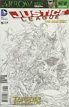 Justice League Vol 2 #16 Incentive Ivan Reis Sketch Cover (Throne Of Atlantis Part 3)