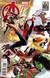 Avengers Vol 5 #3 Variant Avengers 50th Avnniversary Cover