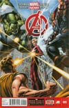 Avengers Vol 5 #9 Regular Dustin Weaver Cover