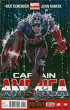 Captain America Vol 7 #6 Regular John Romita Jr Cover