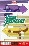 Young Avengers Vol 2 #4 Regular Jamie McKelvie Cover