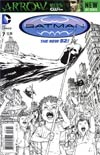 Batman Incorporated Vol 2 #7 Incentive Chris Burnham Sketch Cover