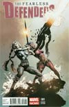 Fearless Defenders #1 Incentive Mike Deodato Jr Variant Cover