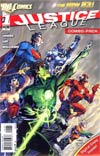 Justice League Vol 2 #1 Combo Pack Without Polybag 3rd Ptg