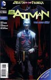 Batman Vol 2 #16 Combo Pack Without Polybag (Death Of The Family Tie-In)