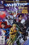 Justice League Vol 2 #15 Combo Pack Without Polybag (Throne Of Atlantis Part 1)