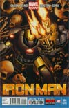 Iron Man Vol 5 #4 2nd Ptg Greg Land Variant Cover