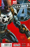 Secret Avengers Vol 2 #1 Incentive Joe Quesada Variant Cover