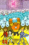 Bravest Warriors #5 Incentive Alec Longstreth Virgin Variant Cover