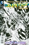 Justice League Vol 2 #17 Incentive Ivan Reis Sketch Cover (Throne Of Atlantis Part 5)