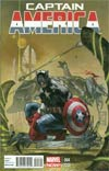 Captain America Vol 7 #4 Incentive Simone Bianchi Variant Cover