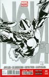 Nova Vol 5 #1 Incentive Joe Quesada Sketch Cover