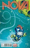 Nova Vol 5 #1 Variant Skottie Young Baby Cover