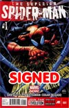 Superior Spider-Man #1 1st Ptg Regular Ryan Stegman Cover Signed By Dan Slott (Limit 1 per customer)