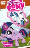 My Little Pony Micro-Series #1 Twilight Sparkle Incentive Sabrina Alberghetti Variant Cover