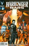 Harbinger Wars #2 Regular Clayton Henry Cover