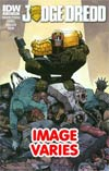 Judge Dredd Vol 4 #7 (Filled Randomly With 1 Of 2 Covers)
