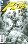 Flash Vol 4 #17 Incentive Francis Manapul Sketch Cover