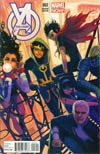 Young Avengers Vol 2 #2 Incentive Stephanie Hans Variant Cover